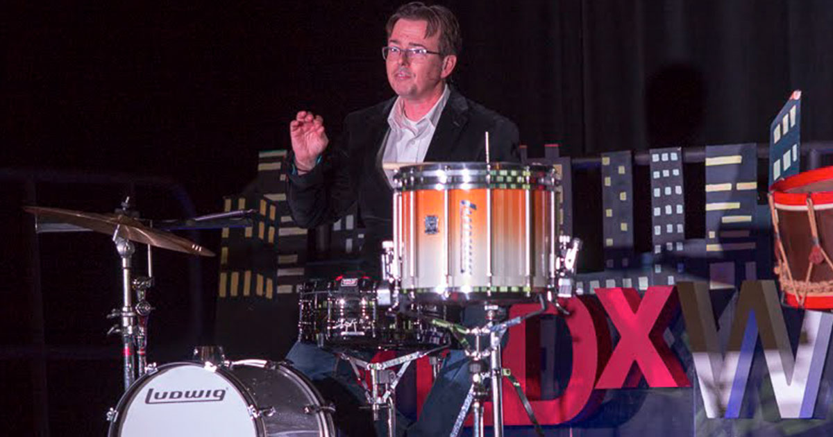 TEDxWilmington - Happy Accidents: Drumming Up Serendipity by Sean J. Kennedy
