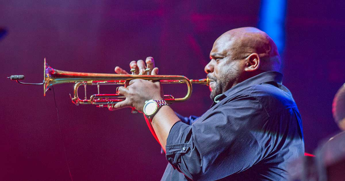 Bach Artist Rashawn Ross Trumpeter for the Dave Matthews Band